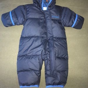 Columbia 0-3 Month Snowsuit